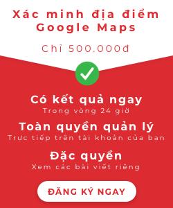 Dịch vụ xác minhh Google Maps